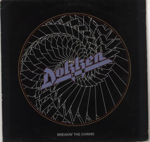 Dokken Breakin' The Chains - EX vinyl LP album (LP record) UK DOKLPBR725901