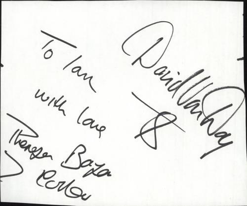 Dollar Autograph memorabilia UK DLLMMAU732379