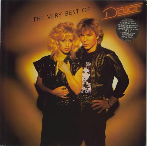 Dollar The Very Best of Dollar - Hype Stickered vinyl LP album (LP record) UK DLLLPTH773943