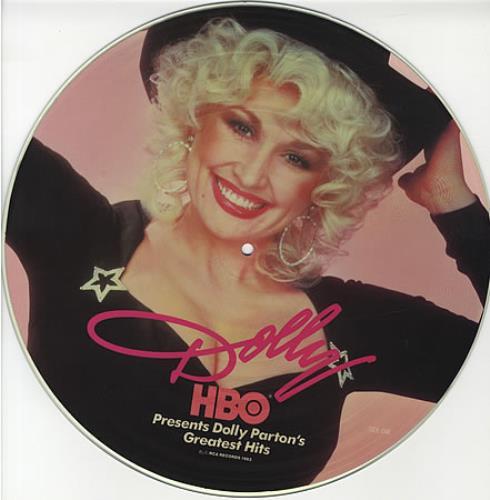 Dolly Parton Greatest Hits US Picture Disc LP (vinyl