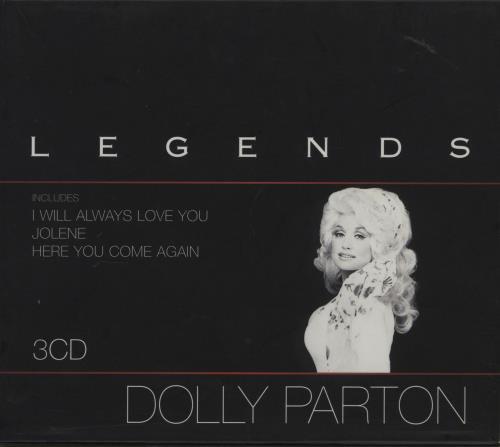 Dolly Parton Legends Uk 3 Cd Album Set Triple Cd 316574