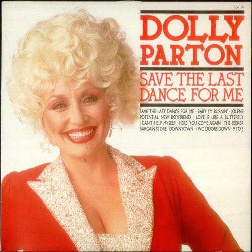 Dolly Parton Save The Last Dance For Me UK vinyl LP album