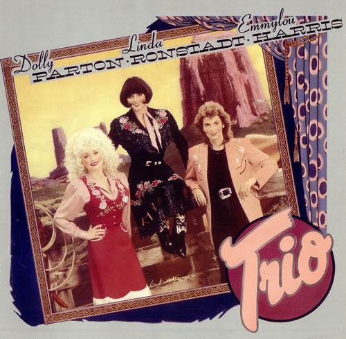 Dolly Parton Trio vinyl LP album (LP record) UK PARLPTR243887