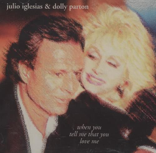 "Dolly Parton When You Tell Me That You Love Me CD single (CD5 / 5"") US PARC5WH101892"