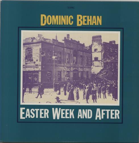 Dominic Behan Easter Week And After vinyl LP album (LP record) UK EXMLPEA664507
