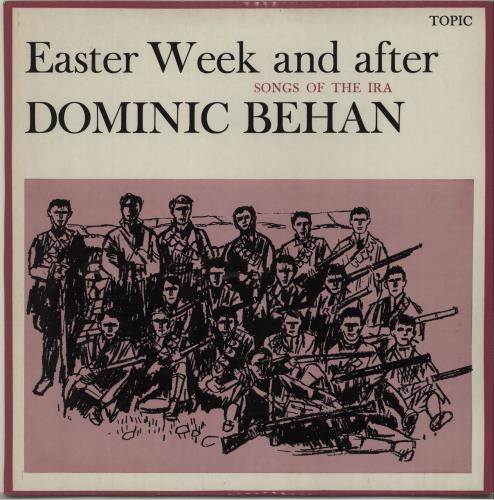 Dominic Behan Easter Week And After vinyl LP album (LP record) UK EXMLPEA674827