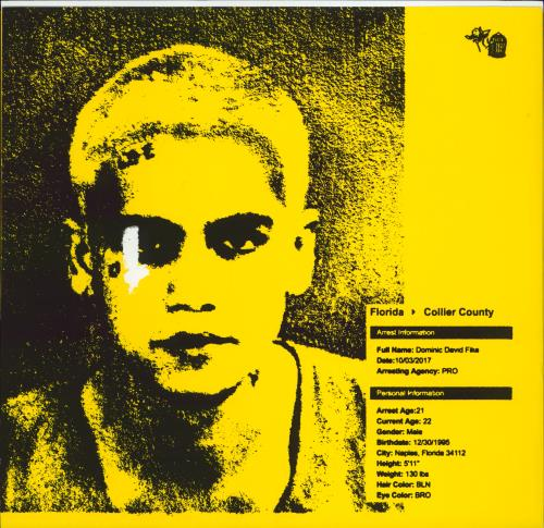 """Dominic Fike Don't Forget About Me, Demos 12"""" vinyl single (12 inch record / Maxi-single) US 3QT12DO770329"""