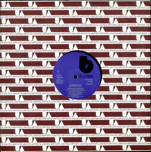 "Donald Byrd Dominoes 12"" vinyl single (12 inch record / Maxi-single) UK DOB12DO497218"