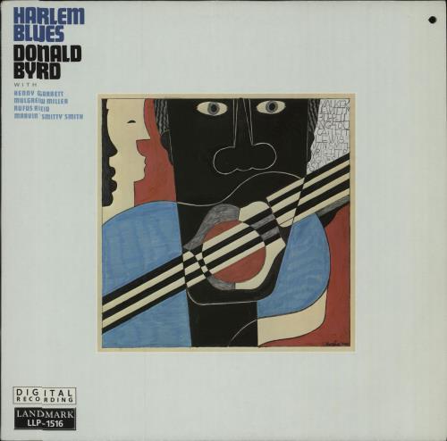 Donald Byrd Harlem Blues vinyl LP album (LP record) Swiss DOBLPHA672785