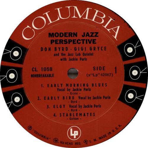 Donald Byrd Modern Jazz Perspective vinyl LP album (LP record) US DOBLPMO699116