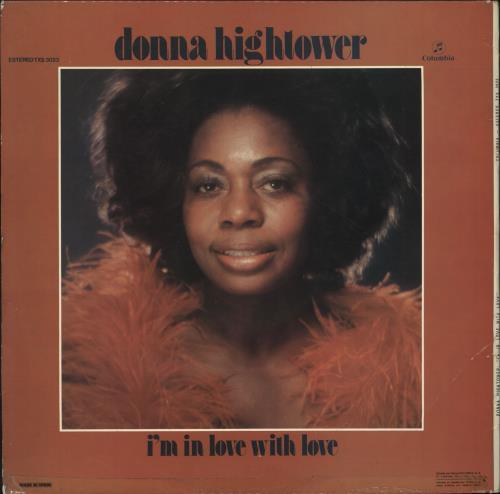 Donna Hightower I'm In Love With Love vinyl LP album (LP record) Spanish D5ZLPIM699657