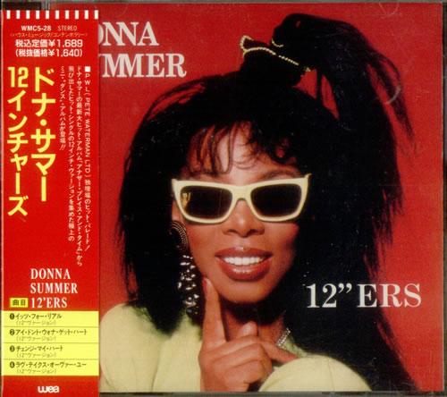 "Donna Summer 12"" Ers CD single (CD5 / 5"") Japanese SUMC5ER536778"