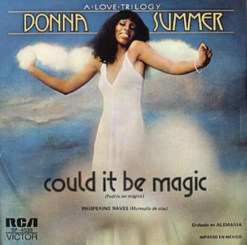 Donna Summer Podria Ser Magico Could It Be Magic Mexican