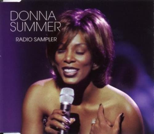 Donna Summer Radio Sampler Mexican Promo CD single (CD5 / 5
