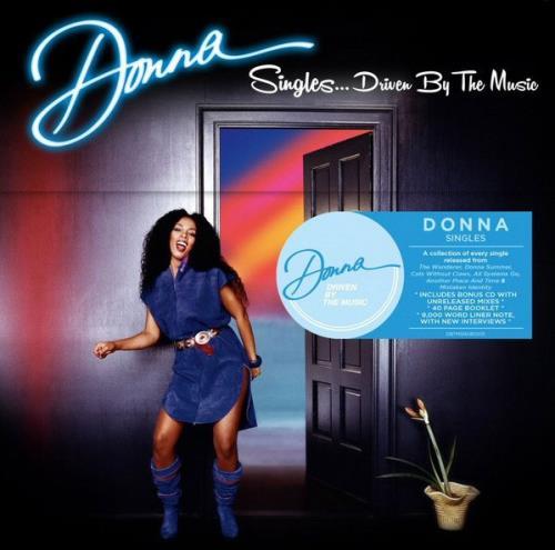 Donna Summer Singles...Driven By The Music - Sealed Box CD Single Box Set UK SUMCXSI657094