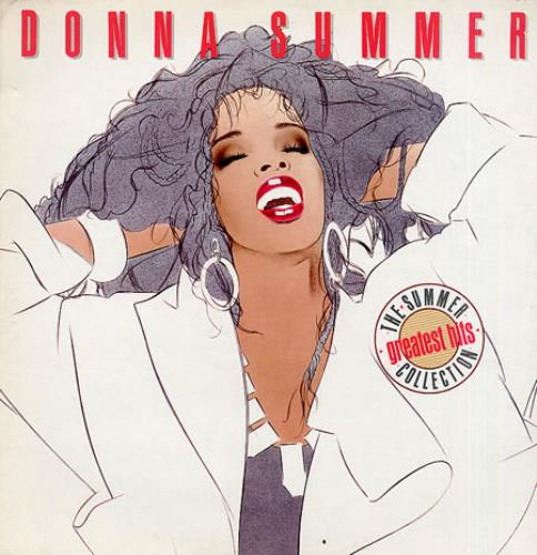 Donna Summer The Summer Collection UK vinyl LP album (LP