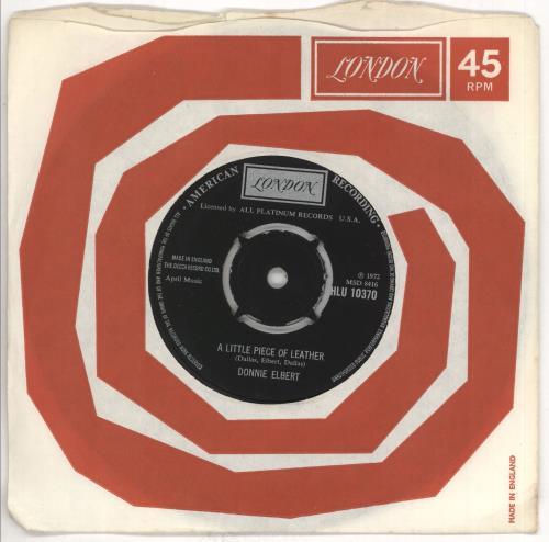 "Donnie Elbert A Little Piece Of Leather 7"" vinyl single (7 inch record) UK 2DE07AL550750"