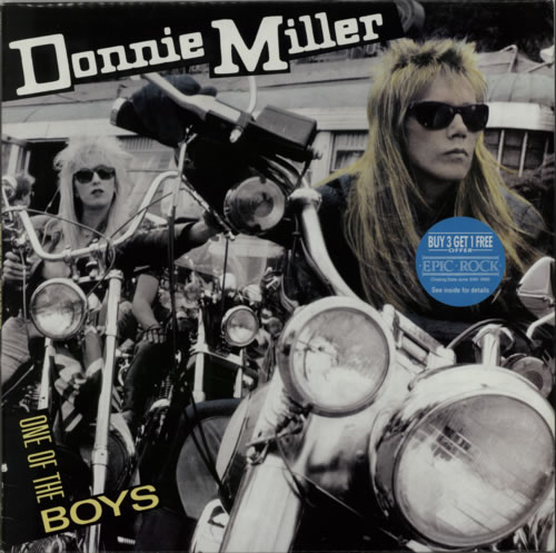 Donnie Miller One Of The Boys vinyl LP album (LP record) UK F-XLPON621883