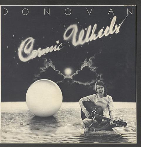 Donovan Cosmic Wheels + Circular Poster vinyl LP album (LP record) UK DOVLPCO151247