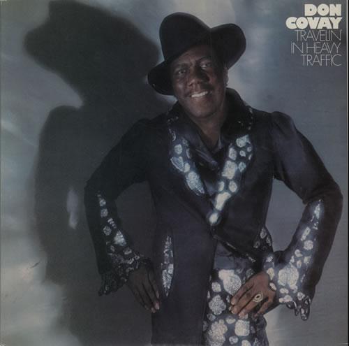 Don Covay Travelin' In Heavy Traffic vinyl LP album (LP record) UK DCVLPTR640360