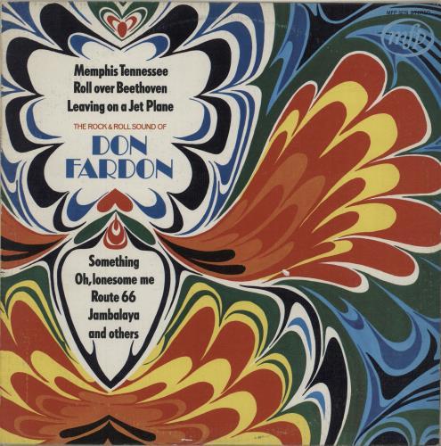 Don Fardon On Tour In Scandinavia vinyl LP album (LP record) UK DF1LPON683796