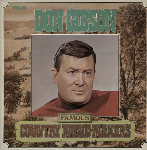 Don Gibson Famous Country Music-Makers 2-LP vinyl record set (Double Album) UK DGI2LFA571700
