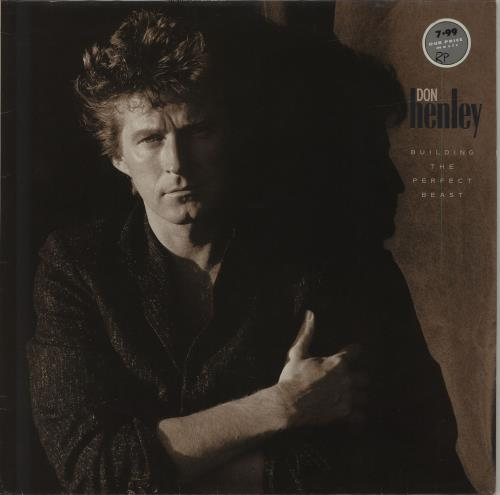 Don Henley Building The Perfect Beast - stickered p/s vinyl LP album (LP record) German DHNLPBU637639