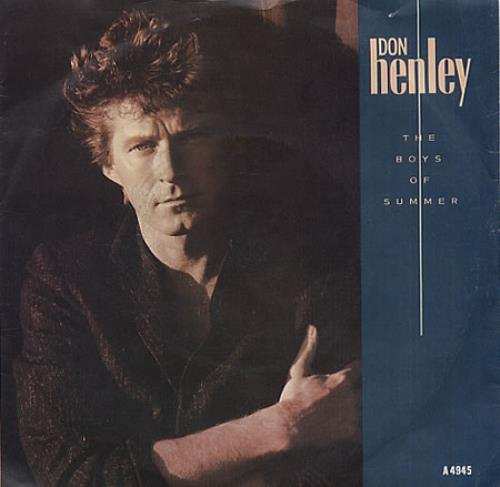Image result for don henley the boys of summer  single images