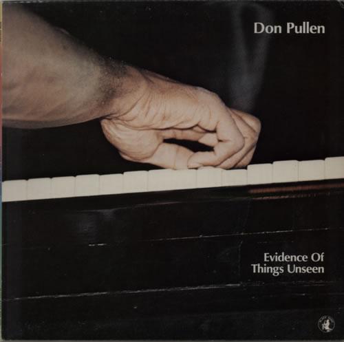 Don Pullen Evidence Of Things Unseen vinyl LP album (LP record) Italian DP0LPEV590352