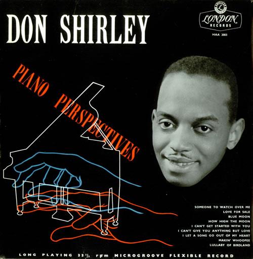 Don Shirley Piano Perspectives vinyl LP album (LP record) UK D4YLPPI529575