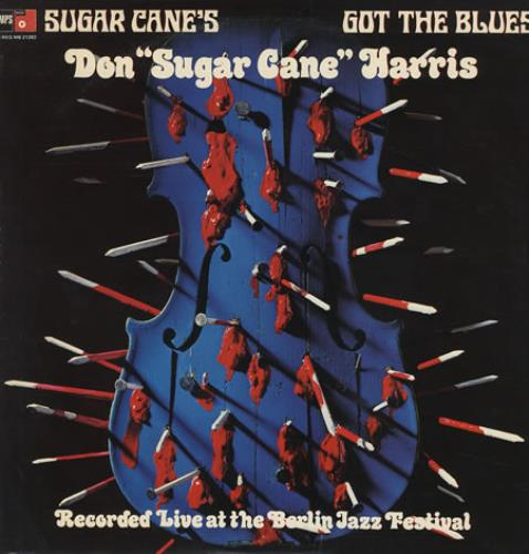Don 'Sugarcane' Harris Sugar Cane's Got The Blues vinyl LP album (LP record) US DOHLPSU370351