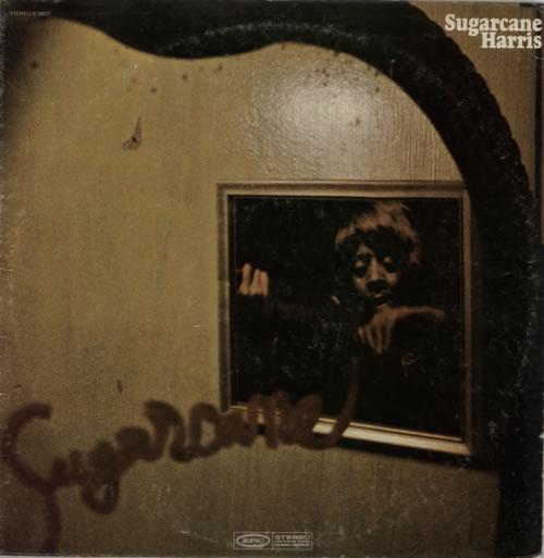 Don 'Sugarcane' Harris Sugarcane vinyl LP album (LP record) US DOHLPSU592322