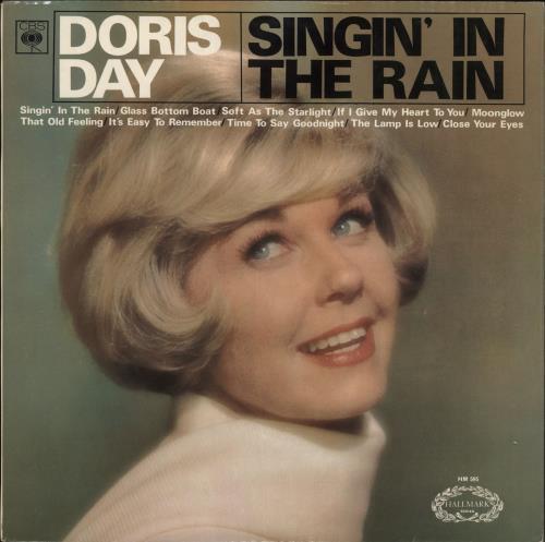 Doris Day Singin' In The Rain vinyl LP album (LP record) UK DRDLPSI721061
