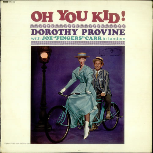 Dorothy Provine Oh You Kid! vinyl LP album (LP record) UK DYVLPOH534590