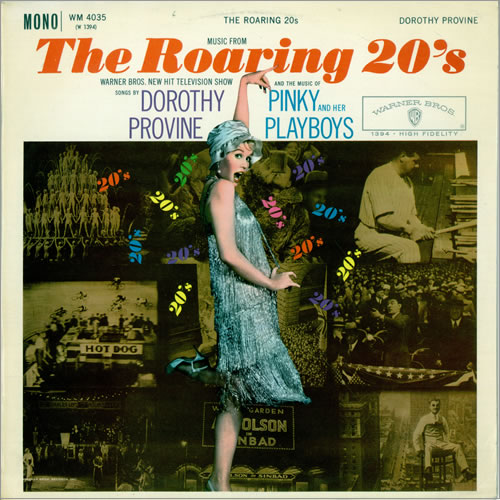 Dorothy Provine The Roaring 20's vinyl LP album (LP record) UK DYVLPTH476224