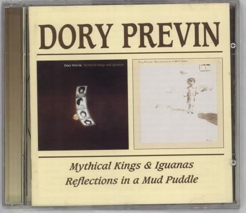 Dory Previn Mythical Kings And Iguanas / Reflections In A Mud Puddle CD album (CDLP) UK DOICDMY714759