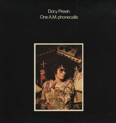 Dory Previn One A.M. Phonecalls vinyl LP album (LP record) UK DOILPON398981