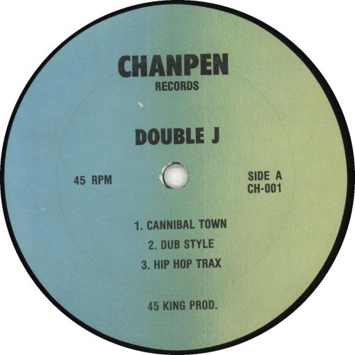 """Double J Cannibal Town EP 12"""" vinyl single (12 inch record / Maxi-single) US Y9112CA711855"""