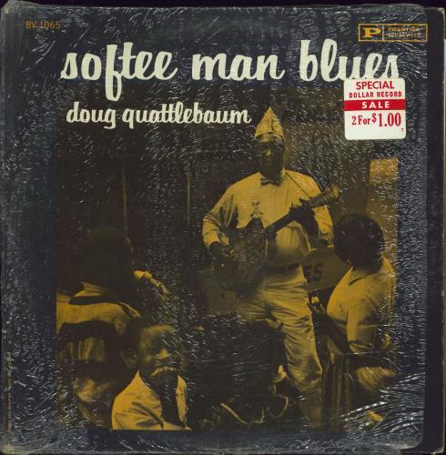 Doug Quattlebaum Softee Man Blues vinyl LP album (LP record) US 3U-LPSO770241