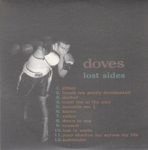 Doves Lost Sides - A Collection Of B-Sides CD album (CDLP) UK VOSCDLO176625