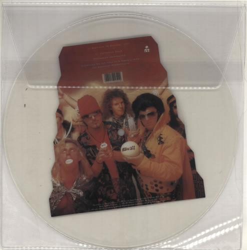 Dread Zeppelin Stairway To Heaven uncut picture disc (vinyl) UK DZEUNST715771