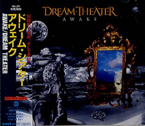 Dream Theater Awake Japanese Cd Album Cdlp 347974