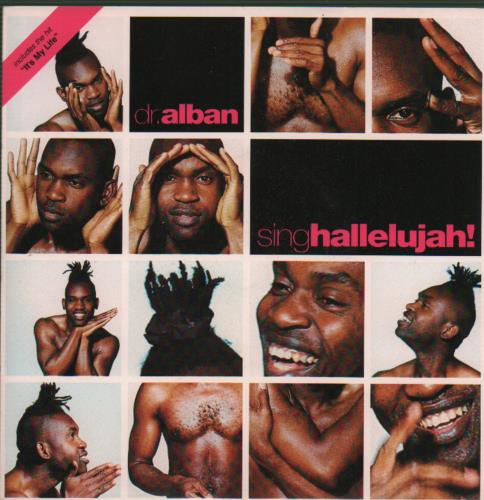 "Dr Alban Sing Hallelujah! 7"" vinyl single (7 inch record) UK DRB07SI654114"