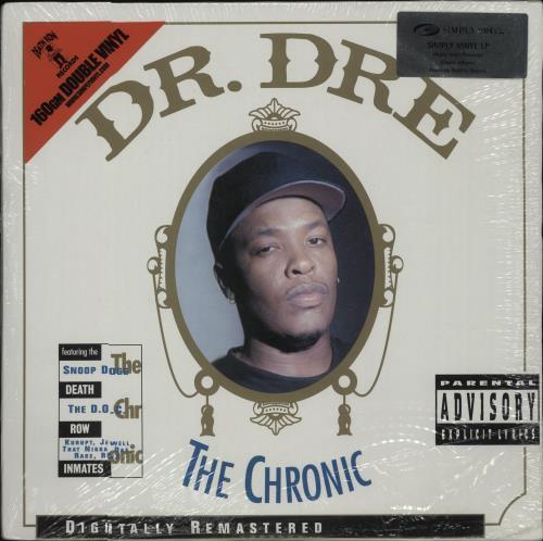 Dr Dre The Chronic 2-LP vinyl record set (Double Album) UK DR.2LTH664370