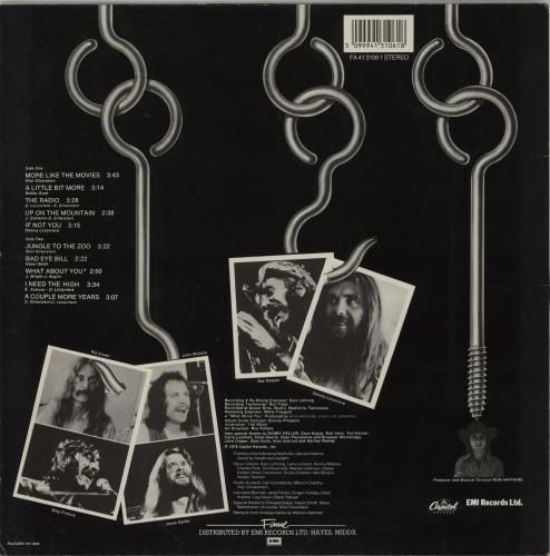 Dr Hook A Little Bit More vinyl LP album (LP record) UK DHKLPAL751946