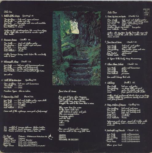 Dr Strangely Strange Heavy Petting - 1st - VG vinyl LP album (LP record) UK DRSLPHE674026