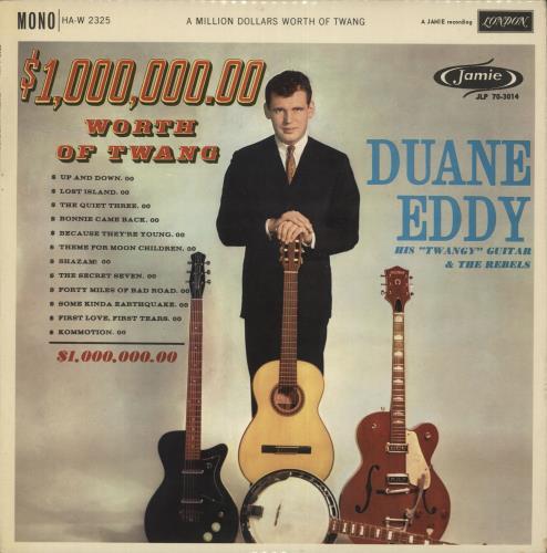 Duane Eddy A Million Dollars Worth Of Twang Uk Vinyl Lp
