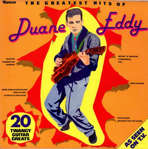 Duane Eddy The Greatest Hits Of Duane Eddy Uk Vinyl Lp