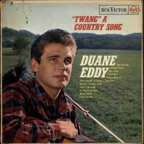 Duane Eddy 'Twang' A Country Song vinyl LP album (LP record) UK DUALPTW699414