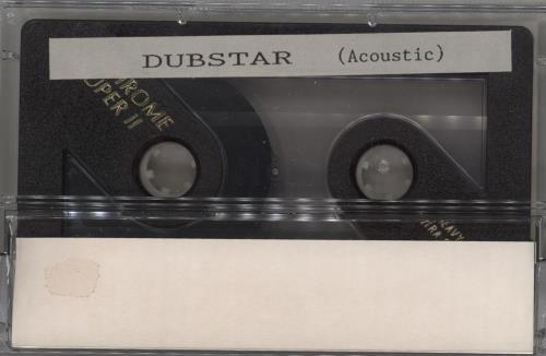 Dubstar Acoustic cassette single UK DUBCMAC270337